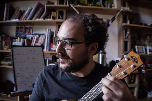 ukulele player