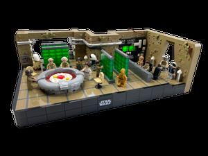 LEGO Yavin 4 Strategy Center MOC