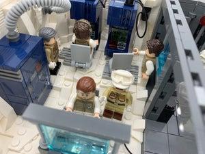 LEGO Hoth Echo Base Command Center