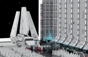 LEGO Death Star Hangar Bay 272