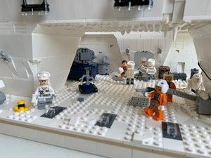 LEGO Hoth Echo Base Hangar Bay