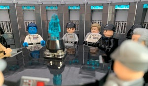LEGO Death Star Conference Room