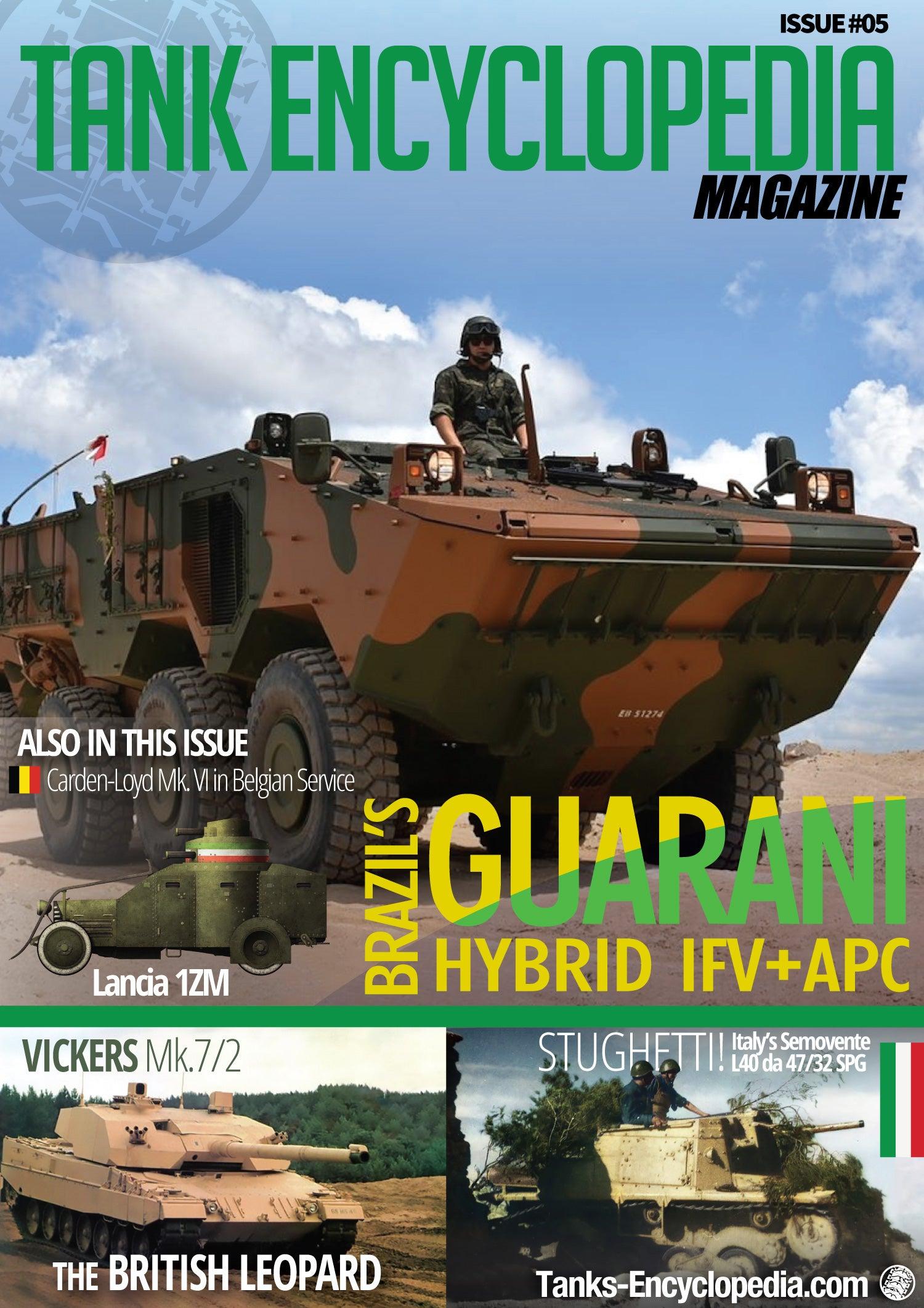 Tanks Encyclopedia Magazine, #4