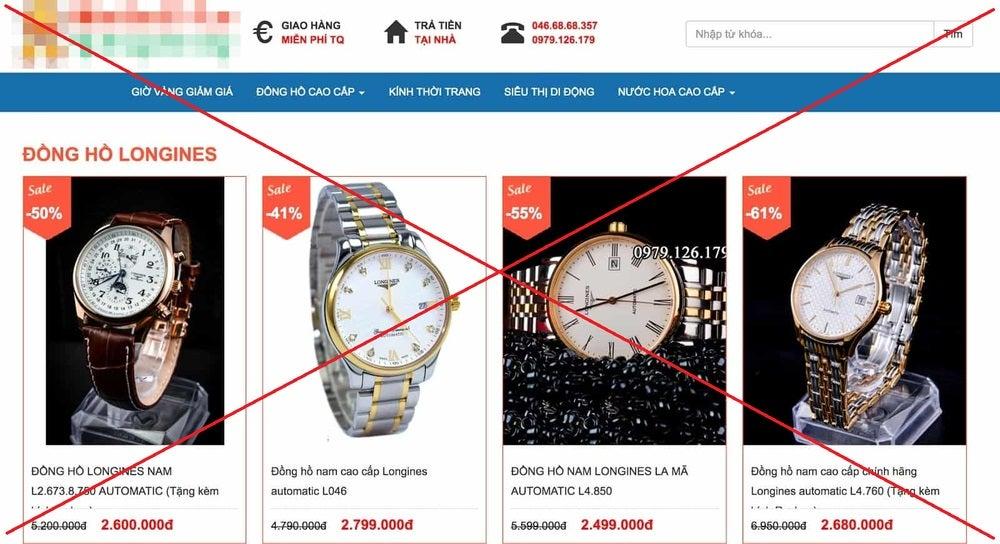 Vạch trần đồng hồ giảm giá 70 có phải hàng chính hãng không? - Ảnh: 2