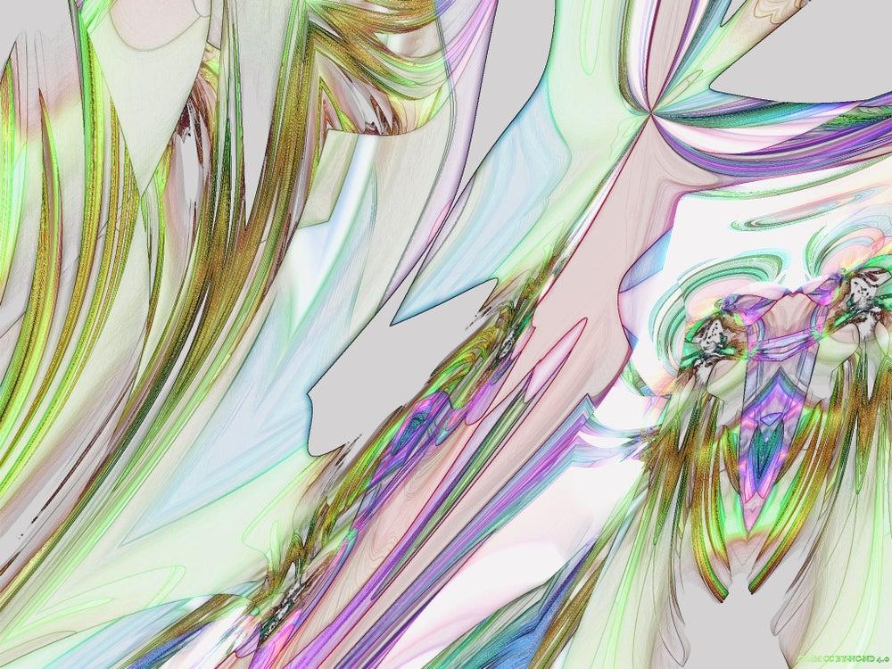 That Girl Is: Fractal Art by Shawn Michel de Montaigne